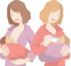 allattamento al seno o artificiale