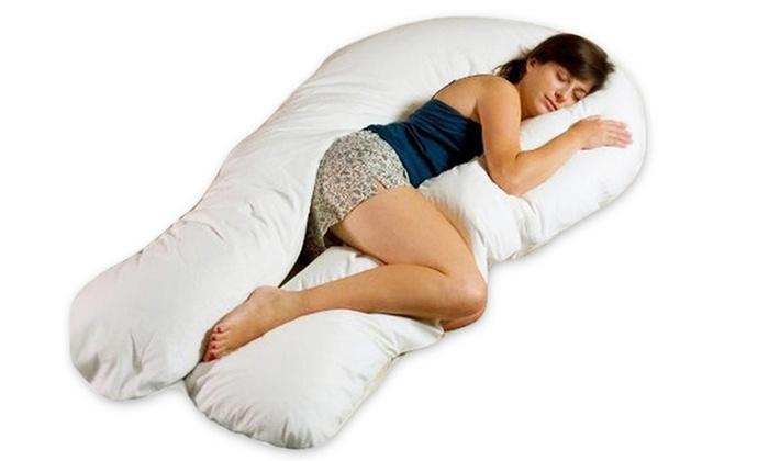 cuscino a banana per dormire in gravidanza