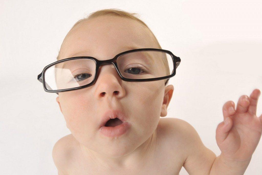 Quando iniziano a vedere i neonati
