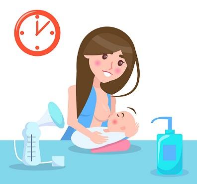 allattamento schedulato