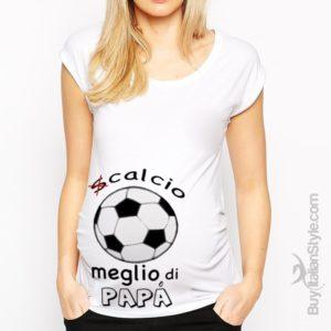t-shirt-premaman-scalcio-meglio-di-papa